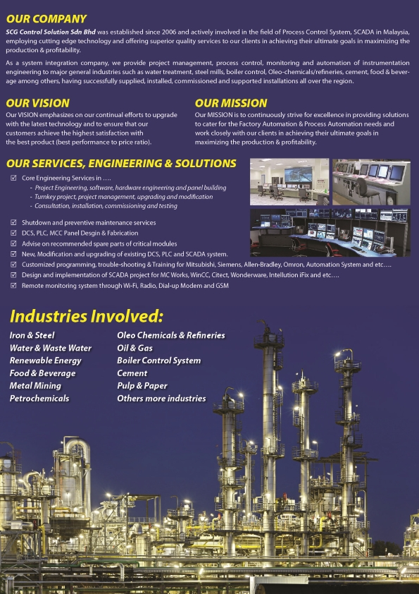 About Us – SCG Control Solution Sdn Bhd